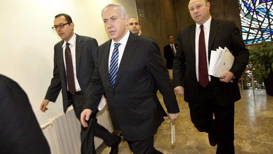"""Israels Premier Netanjahu: """"Unser Ziel ist es, die Stabilität zu bewahren"""""""