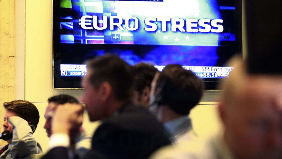 The New York Stock Exchange simply ignored the results of stress test conducted on banks in Europe on Friday.