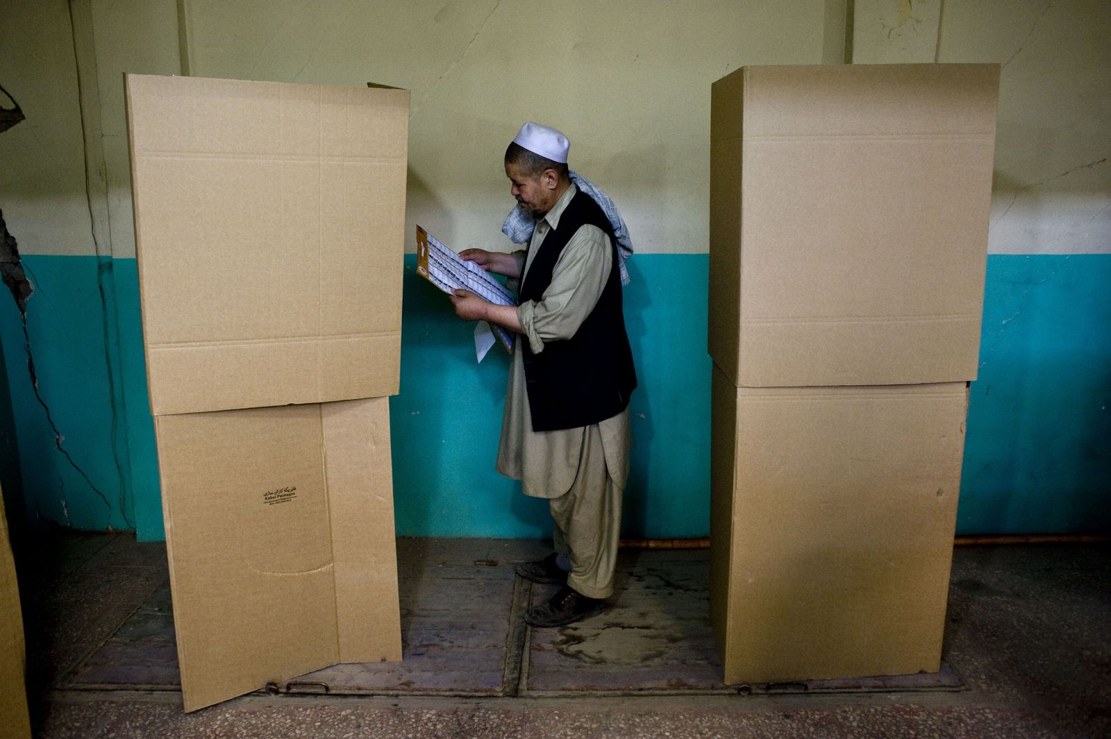 AFGHANISTAN-ELECTIONS-VOTE