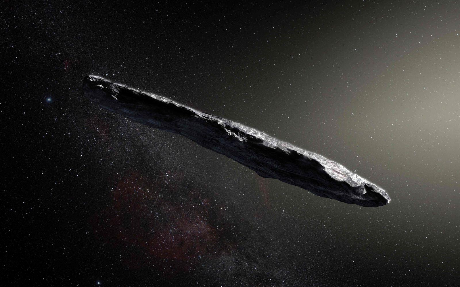 Asteroid Oumuamua