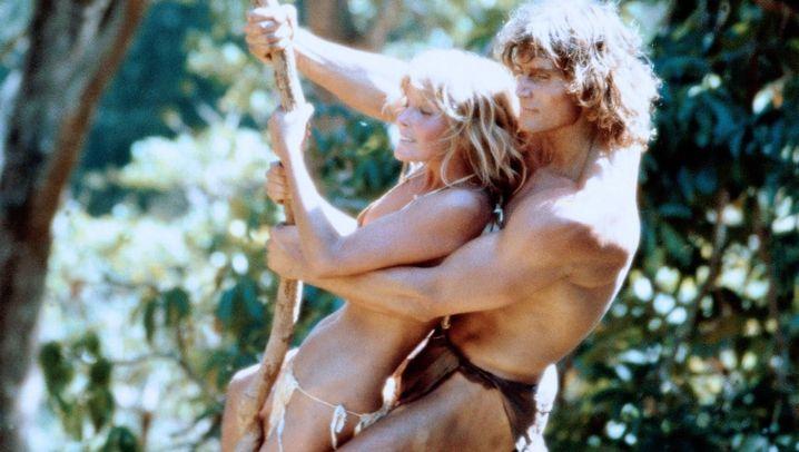 Urwaldmann Tarzan: Der an der Liane baumelt