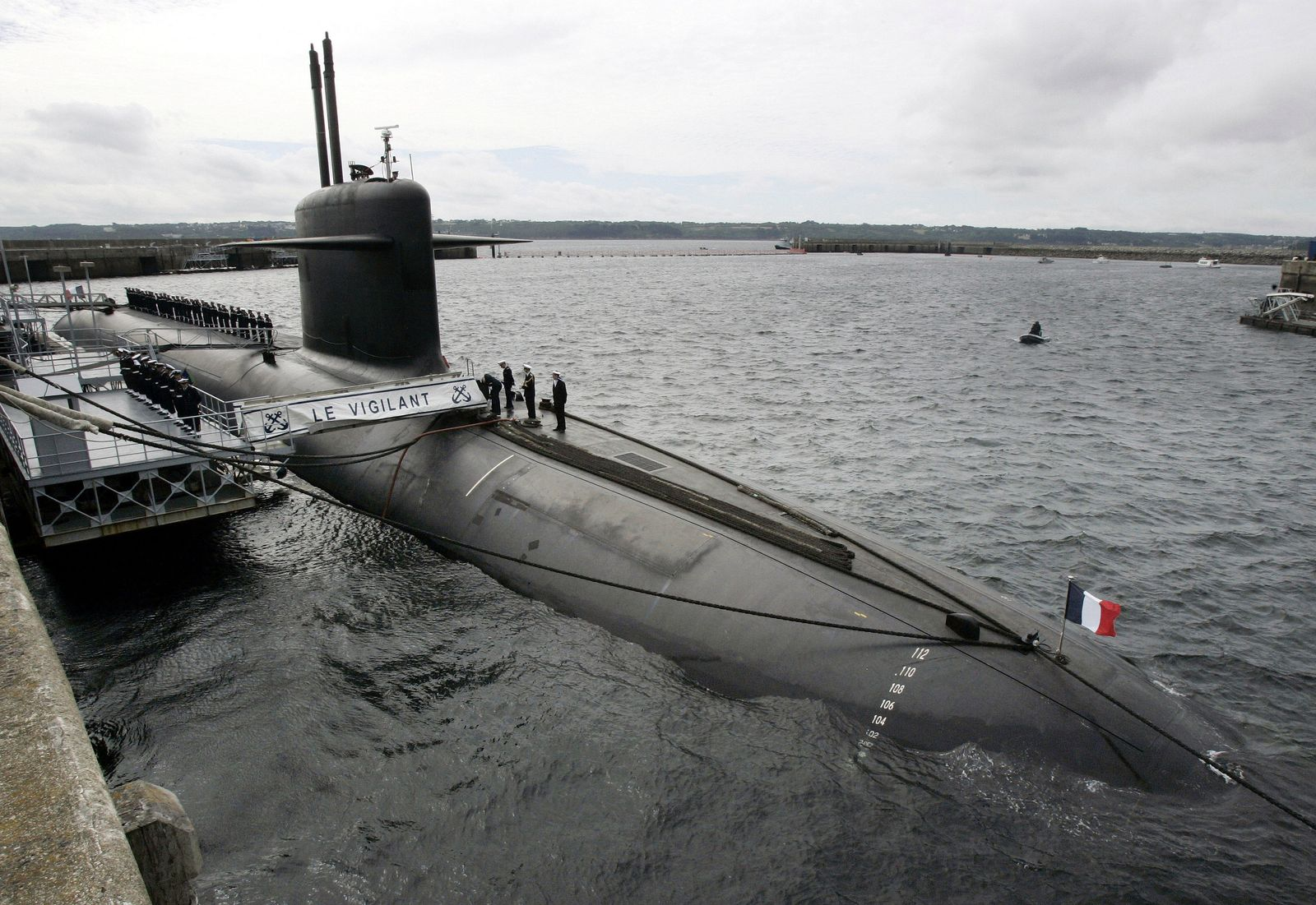 FRANCE-DEFENCE-NUCLEAR-SUBMARINE-SECURITY-FILES