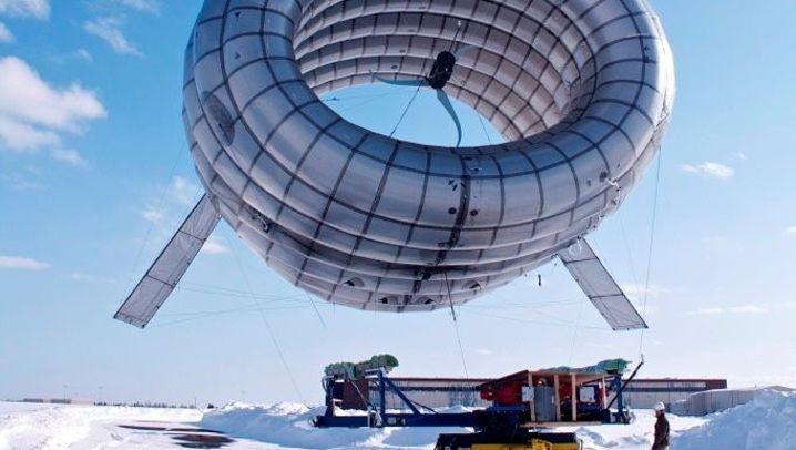 Buoyant Airborne Turbine: Strom aus der Luft