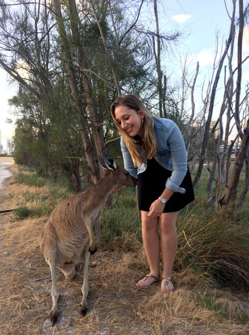 Aus dem Rheingau nach Australien - und zurück: Backpackerin Michelle Kulig