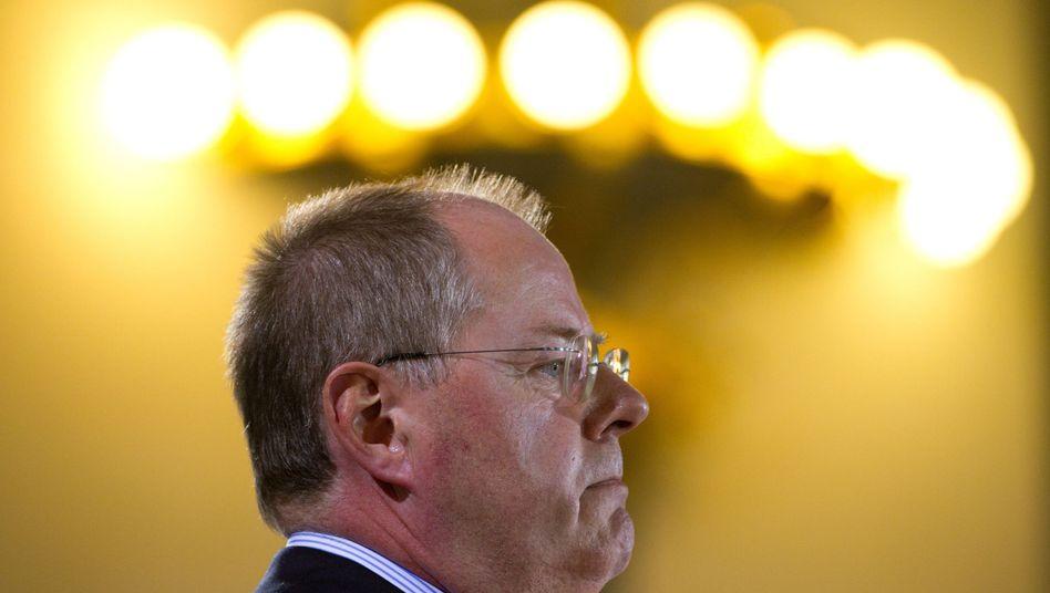 """SPD-Politiker Steinbrück: """"Dieses Kabinett gibt eine denkbar schwache Vorstellung ab"""""""