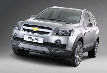 Chevrolet S3X: SUV-Studie, das Serienmodell kommt 2006 auf den Markt