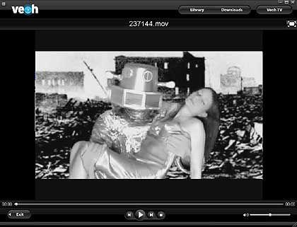 Netzvideorekorder Veoh: Werbefrei fernsehen, auch ohne Internetzugang