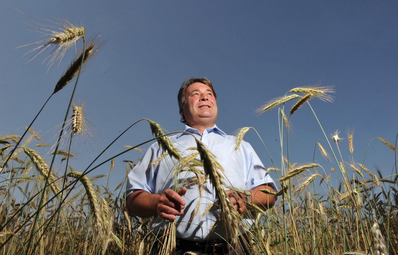 Bayerischer Landwirtschaftsminister Helmut Brunner