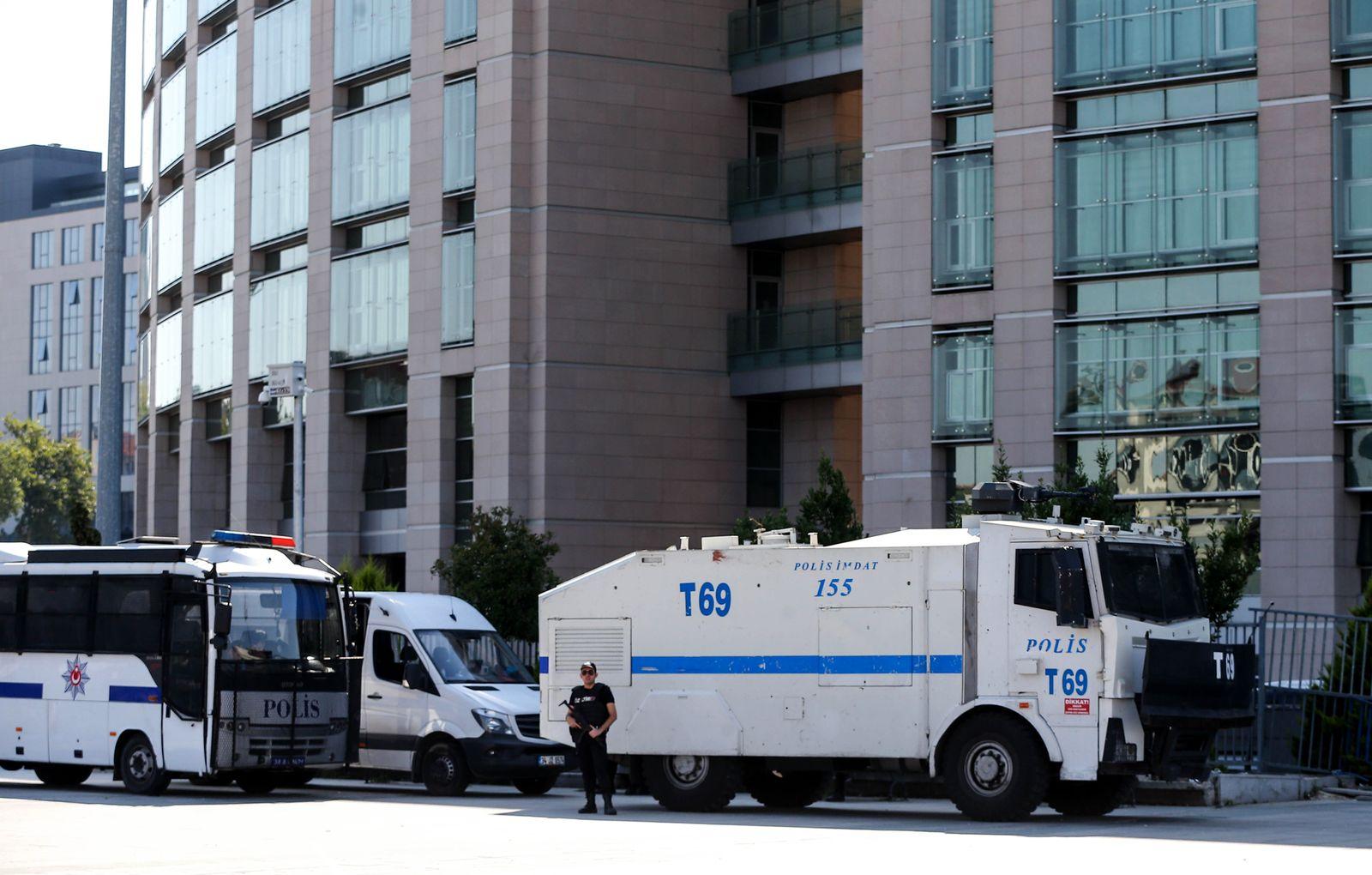 Polizei/ Türkei / Pressefreiheit