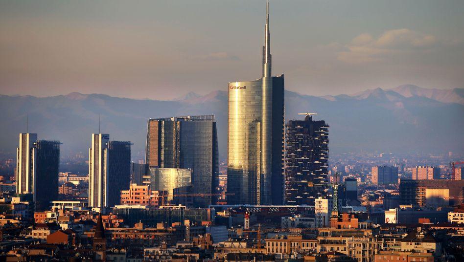 Finanzdistrikt von Mailand
