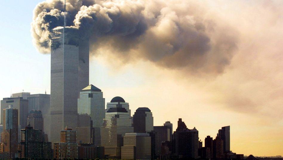 11. September 2001: Anschlag auf das World Trade Center in New York City