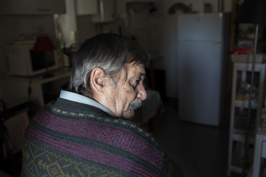 Drei Jahre hat António Melo den Baulärm in seinem alten Haus ertragen, das in eine Unterkunft für Touristen verwandelt wurde