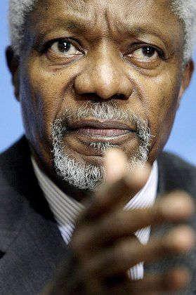 United Nations Secretary General Kofi Annan said on Monday that Iraqis were better off before the US invaded.