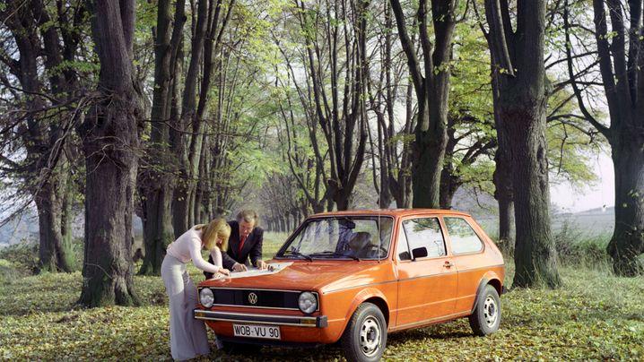 Der VW Golf: Ein Auto, sieben Generationen
