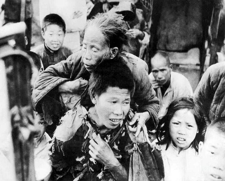 Der »Große Sprung nach vorn« führte ab 1958 zur großen Hungersnot, Millionen Chinesen starben