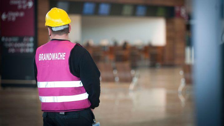 Hauptstadtflughafen: Ärger mit dem Brandschutz