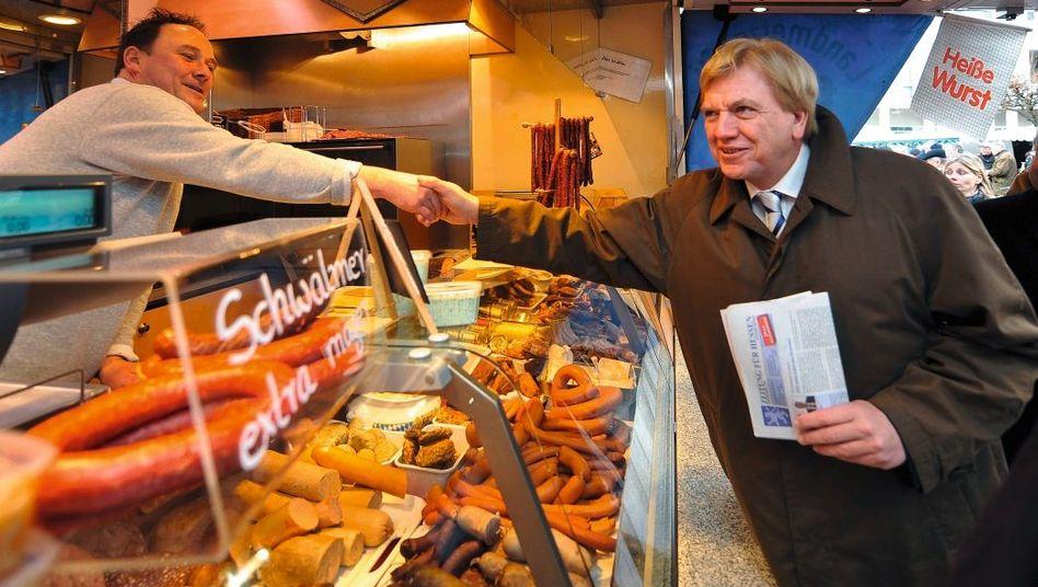 CDU-Mann Bouffier: »Wenn ich ehrlich bin, bin ich manchmal hundemüde«