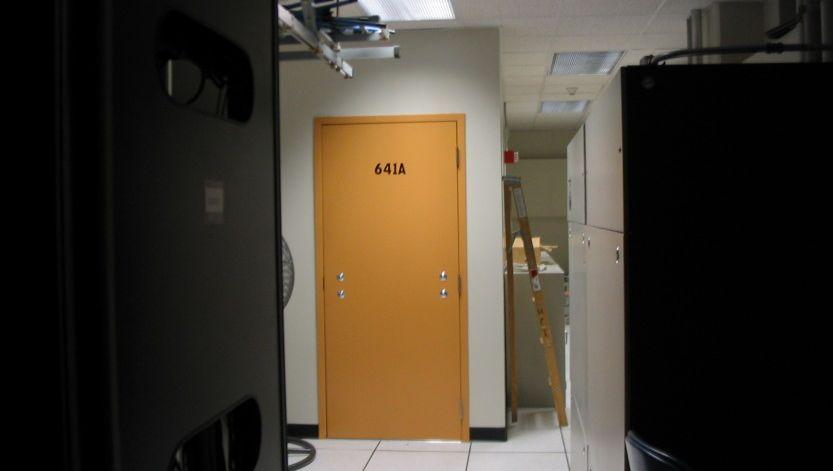 Room 641 des AT&T-Gebäudes in San Francisco