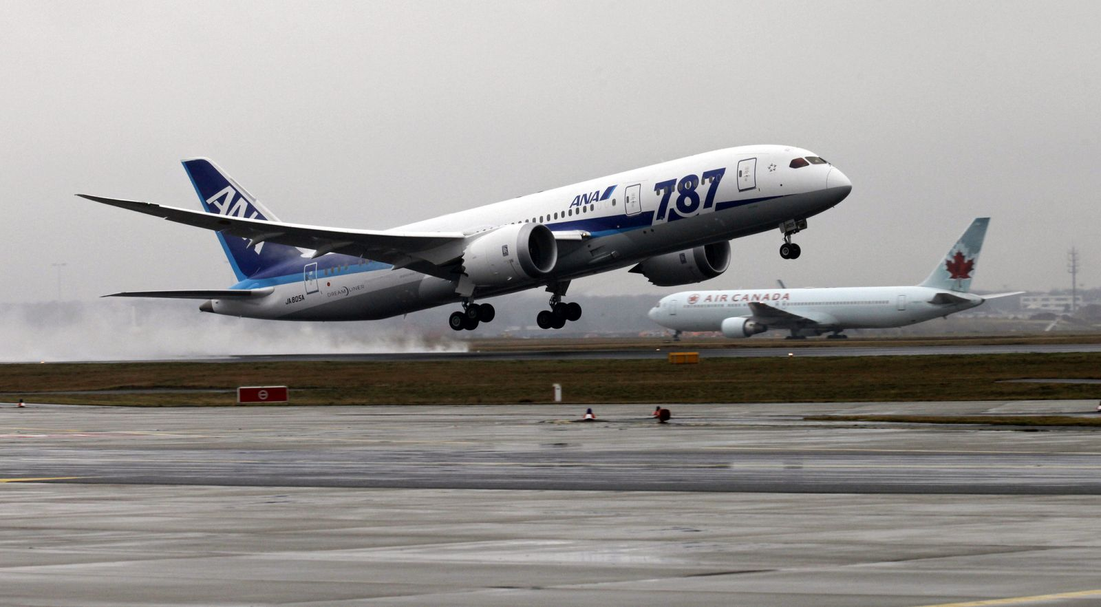 NICHT VERWENDEN Dreamliner Boeing 787