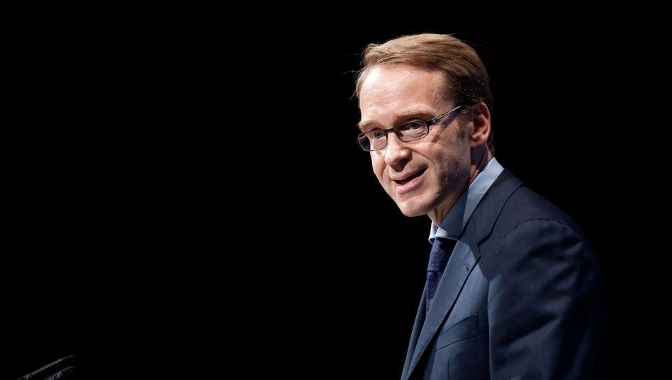 """Weidmann bei einer Rede 2012: """"Abwertungswettlauf, der nur Verlierer kennen wird."""""""