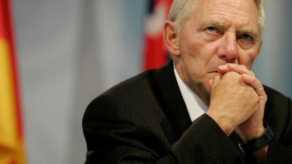 """Designierter Finanzminister Schäuble: """"Exorbitant hohe Schulden"""""""