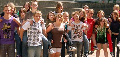 """Redaktion von """"Innfloh"""": Beste Schülerzeitung 2008/2009"""