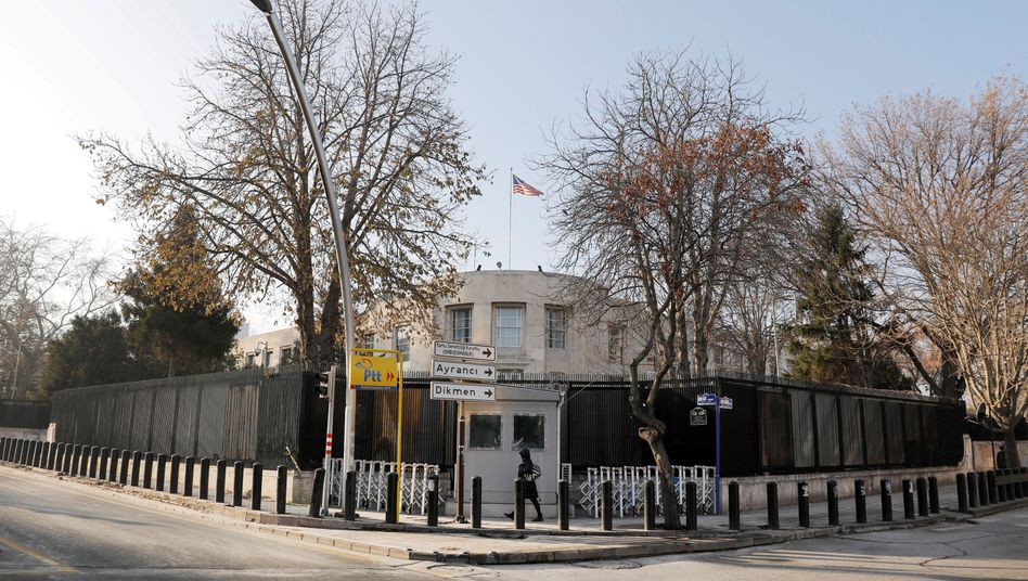 US-Botschaft in Ankara