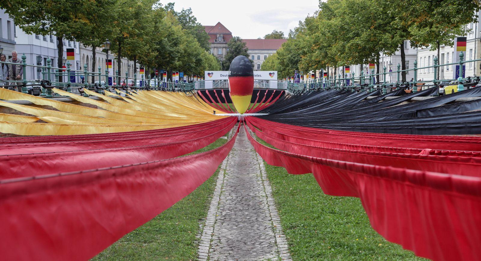 EinheitsEXPO 30. Jahrestag Deutsche Einheit Potsdam, 10.09.2020: EinheitsEXPO zum 30. Jahrestag der Deutschen Einheit. S