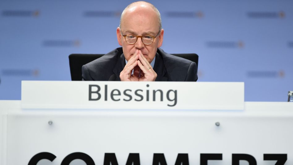 Commerzbank-Chef Blessing: Rücktritt nach acht Jahren