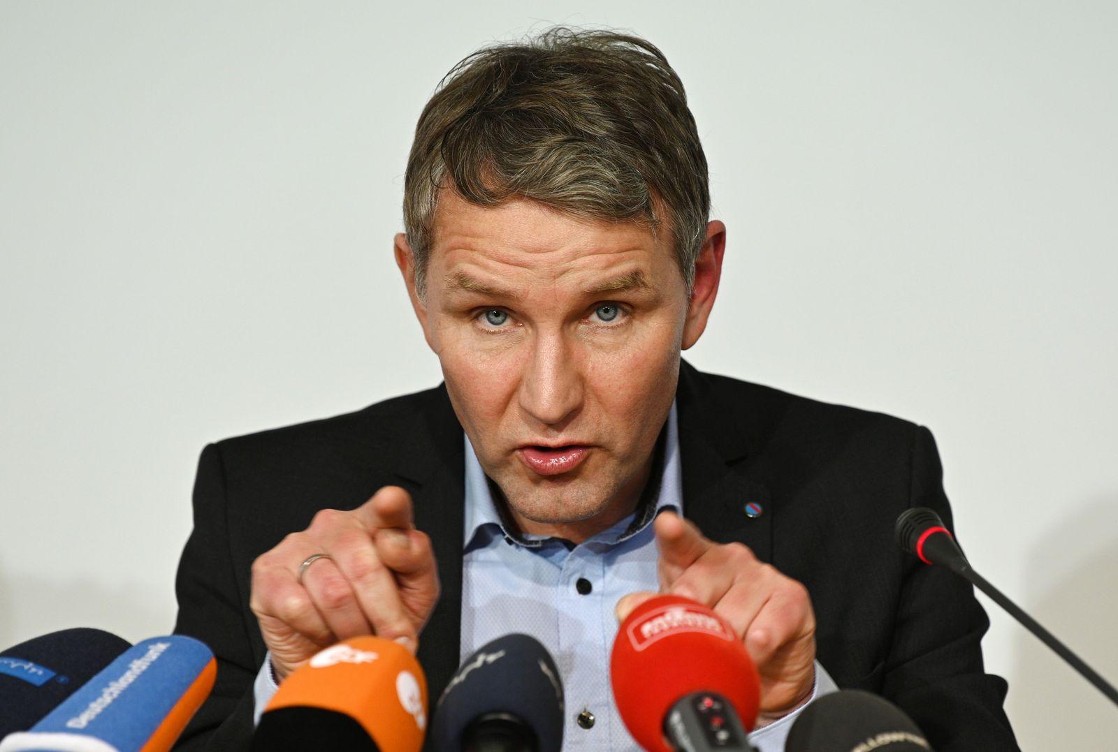 Landespressekonferenz im Thüringer Landtag