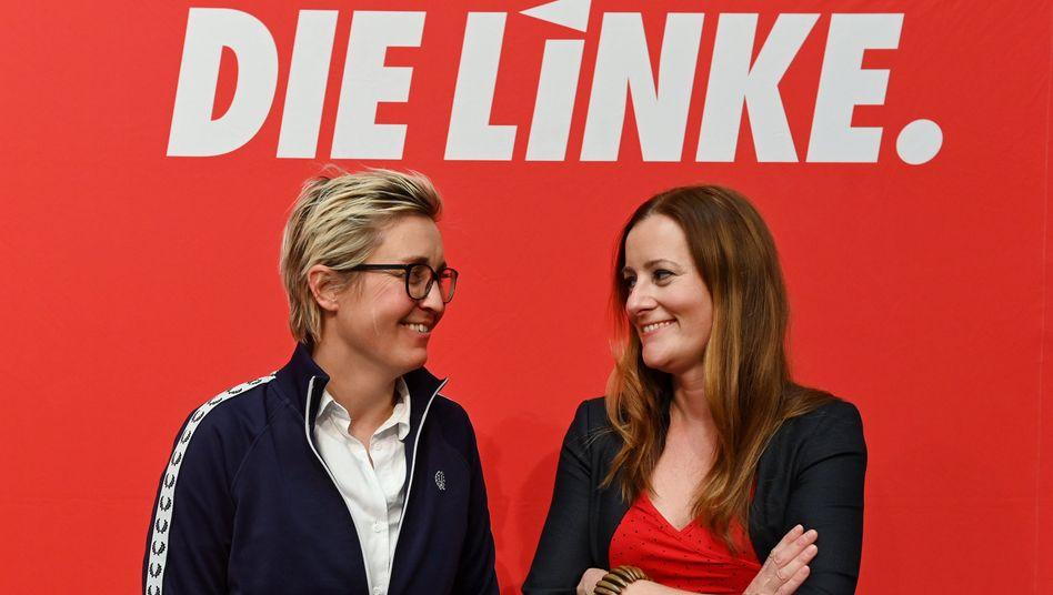 Sie sollen bald die Linke führen: Susanne Hennig-Wellsow, Janine Wissler