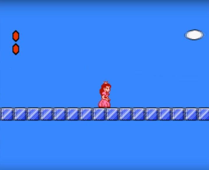 "Prinzessin Peach in ""Super Mario Bros."""