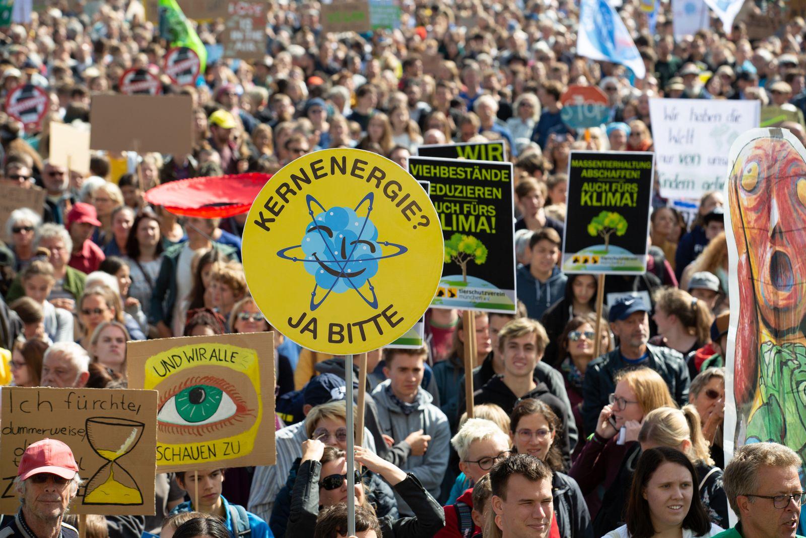 Global Climate Strike, Munich, Germany - 20 Sep 2019