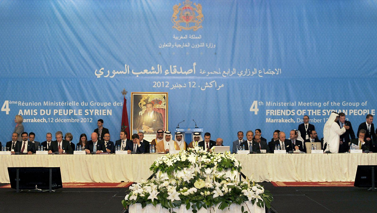 Marokko / Syrien-Konferenz