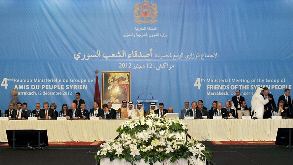 """Syrien-Konferenz in Marakesch: """"Kraftvolles Zeichen"""""""