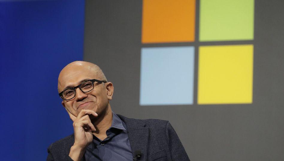 Microsoft-Chef Satya Nadella (Archivbild)