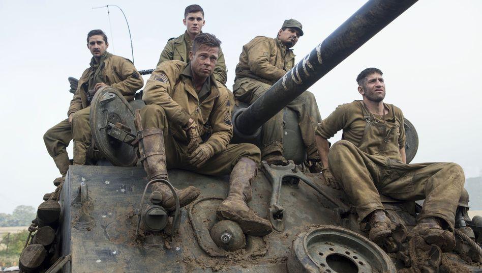 Weltkriegsdramamit Brad Pitt: Der Albtraum im Inneren des Panzers