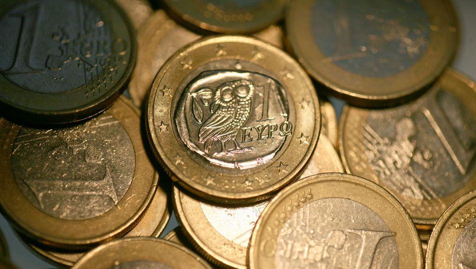 Euro-Münzen: Griechenland soll seine Inseln verkaufen