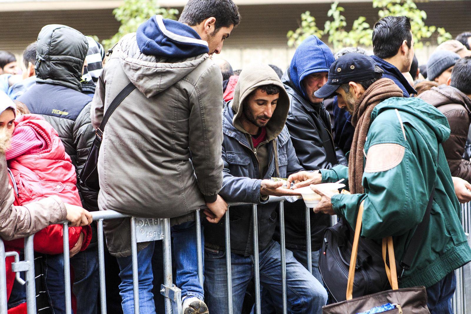 Flüchtlinge / lageso