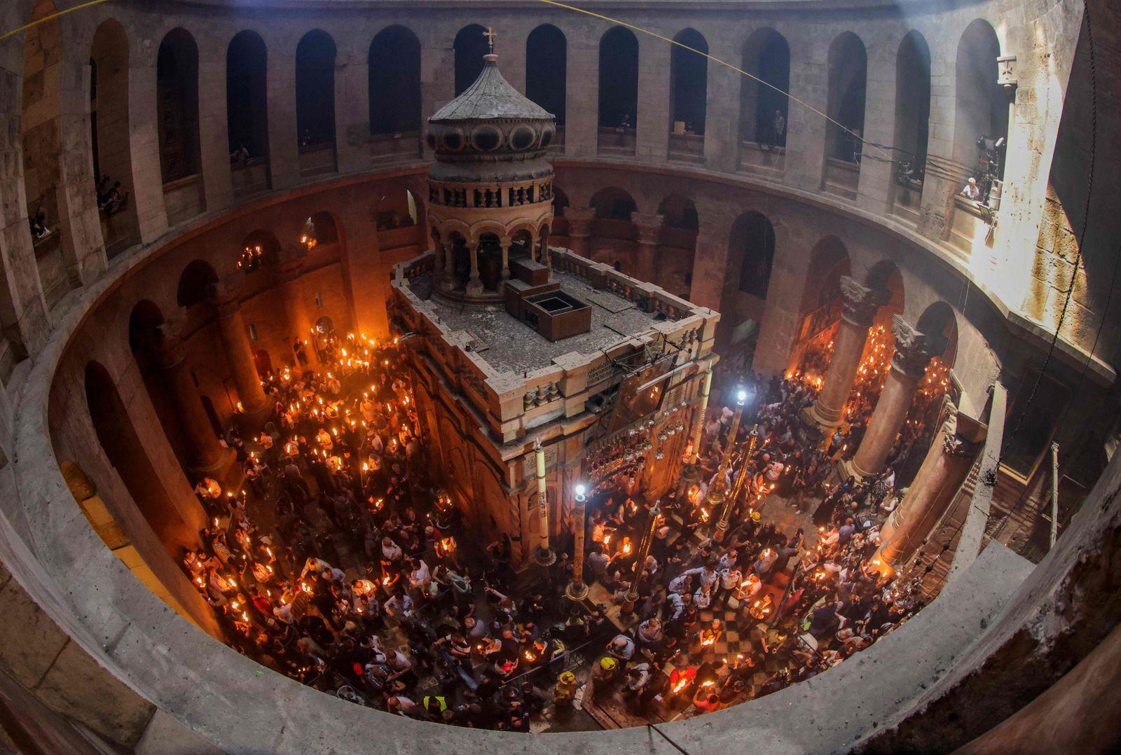 PALESTINIANS-ISRAEL-RELIGION-CHRISTIANITY