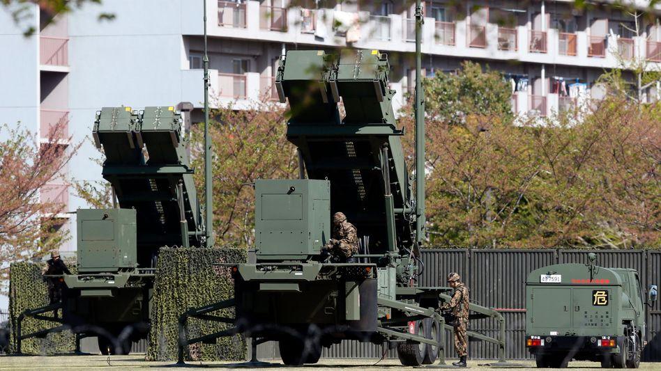 """Patriot-Abwehrsysteme in Japan: """"Das Leben unseres Volkes schützen"""""""