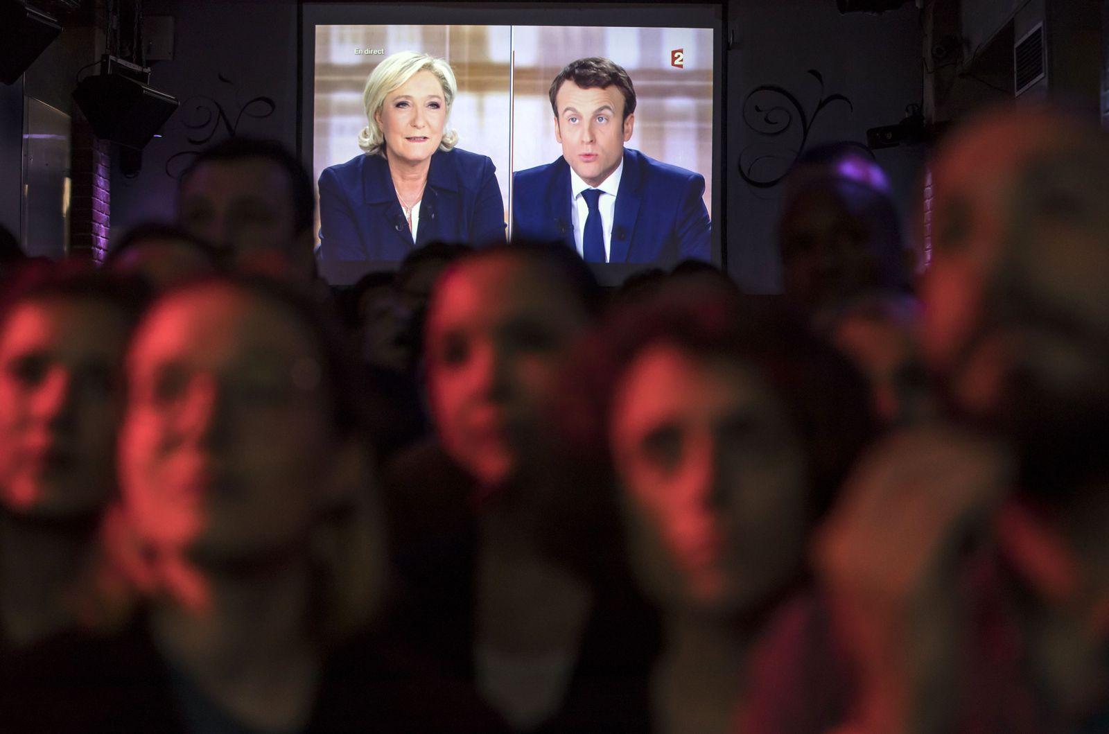 Macron / le Pen