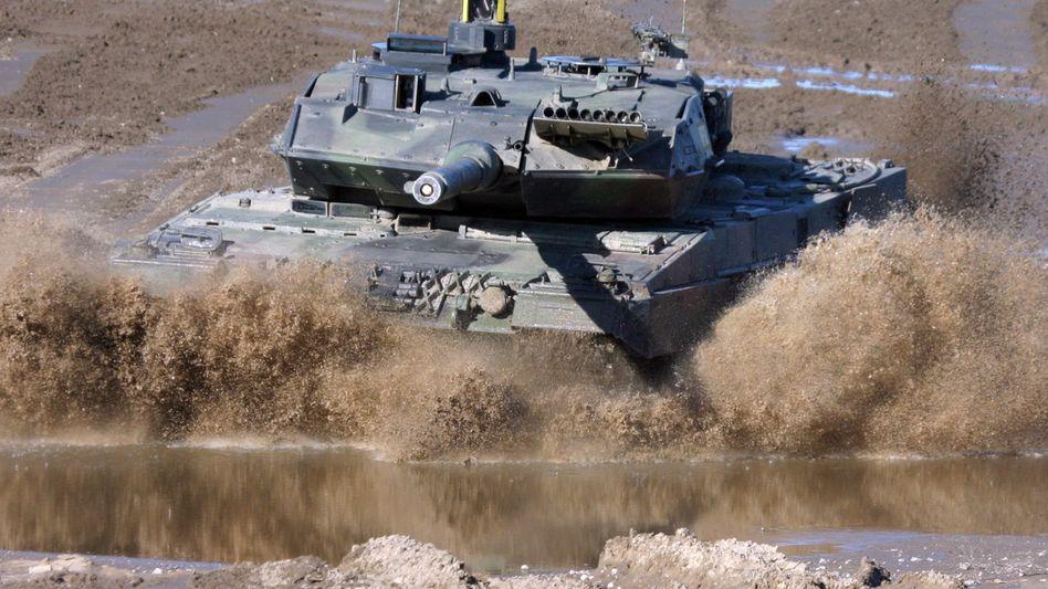 """""""Leopard 2"""": Plant Hersteller Krauss-Maffei Wegmann ein Joint Venture mit dem französischen Konkurrenten Nexter?"""
