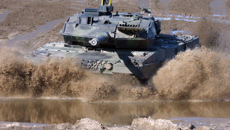 """""""Leopard 2""""-Panzer von KMW: """"Bündnis gleichwertiger Partner"""""""