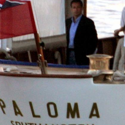 Nachwehen nicht ausgeschlossen: Sarkozy beim Kurzurlaub auf der Paloma.