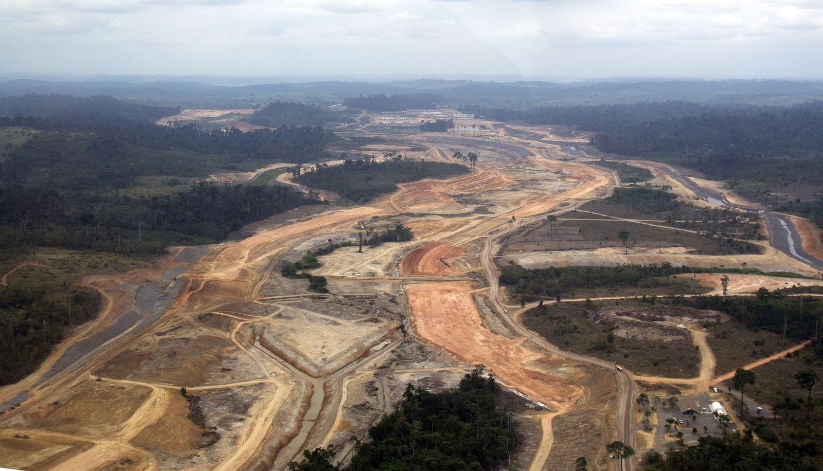 Altamira Staudamm Brasilien