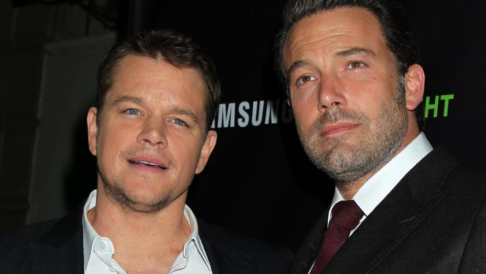 Produzieren Film über Fifa-Skandal: Matt Damon und Ben Affleck