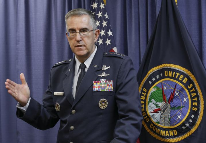 Air Force General John Hyten