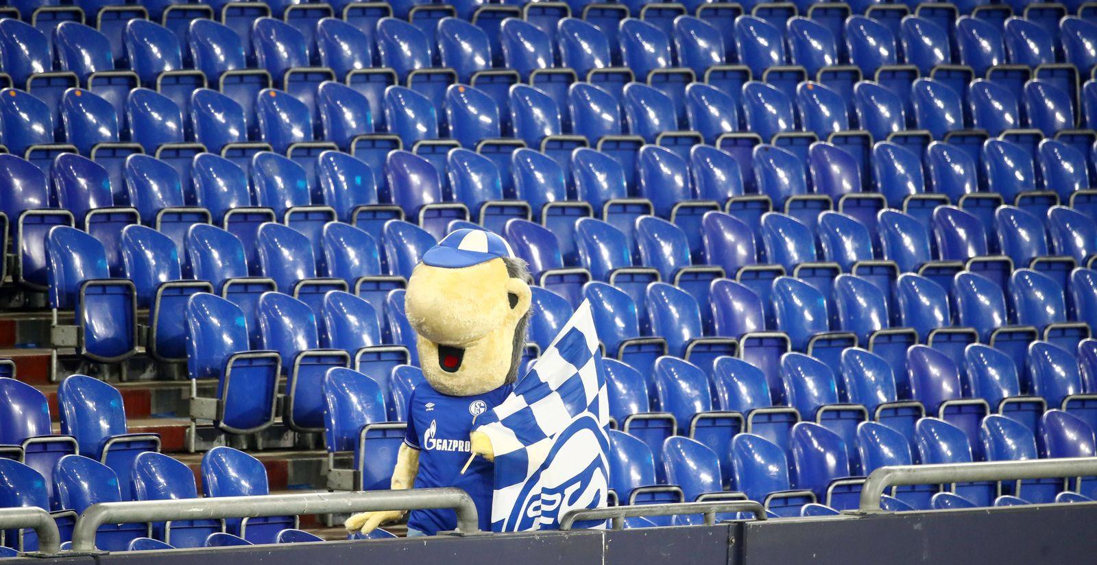 Schalke 04 - RB Leipzig / 06.02.2021 Gelsenkirchen, 06.02.2021, VELTINS-Arena, Fußball, DFL, Bundesliga , FC Schalke 04