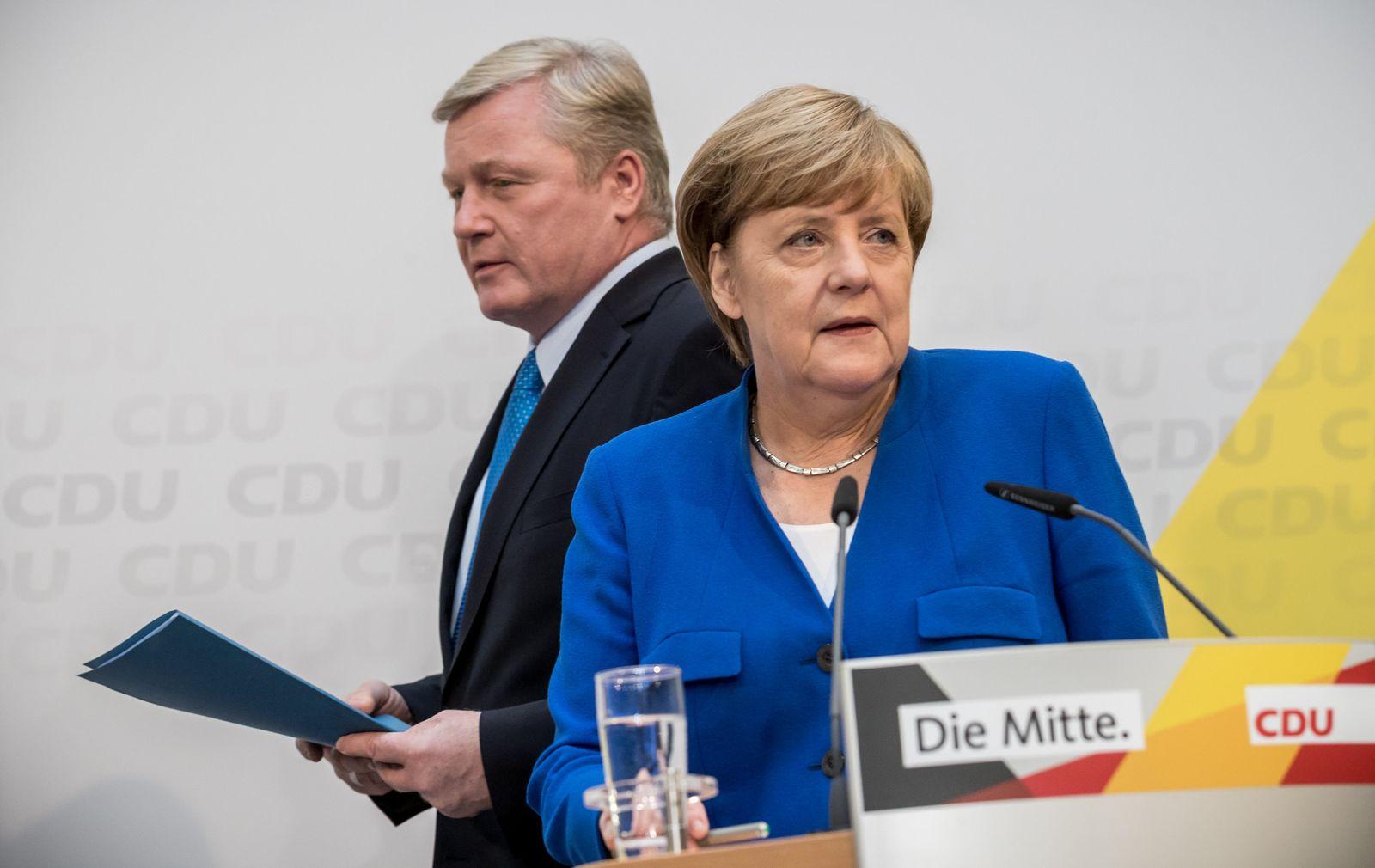 Niedersachsen - CDU Merkel